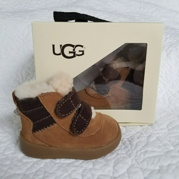 f96a593c1c1 UGG Shoes | New 01 Infant Baby Pritchard Boot Brown Suede | Poshmark